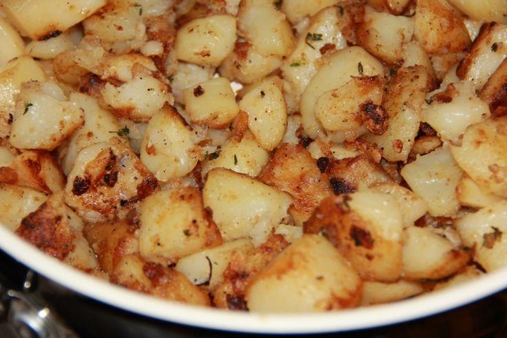 Картофель печеный без духовки : Вторые блюда