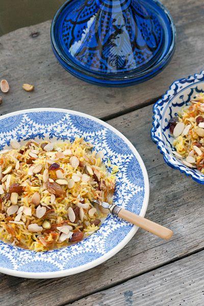 Ricetta Riso persiano ingioiellato - Labna