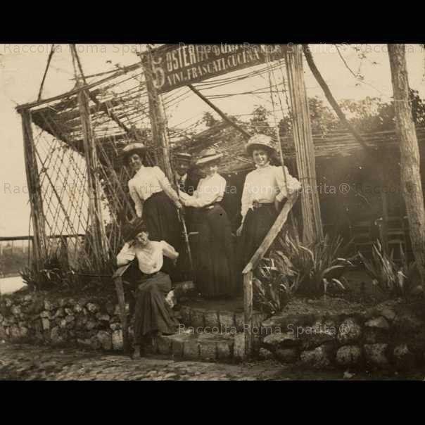 Osteria del Curato 1909