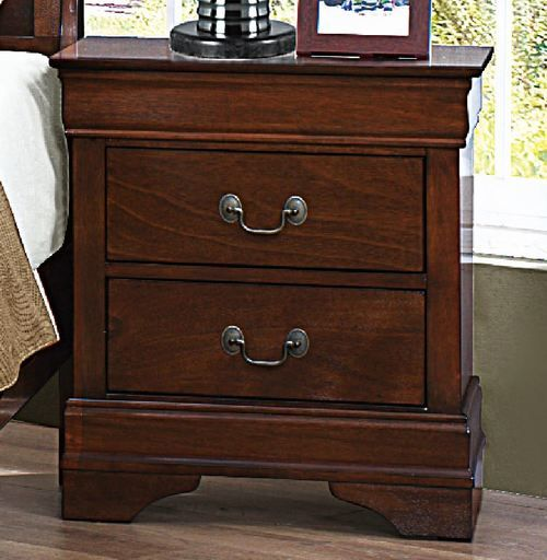 Homelegnace Mayville Collection Cherry Nightstand 2147-4
