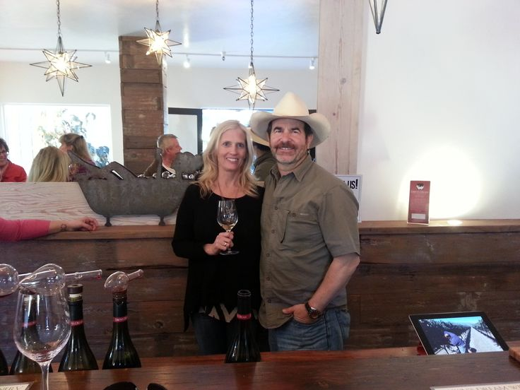 Dawn & Jack Galante at the Grand Opening of Dawn's Dream Winery.