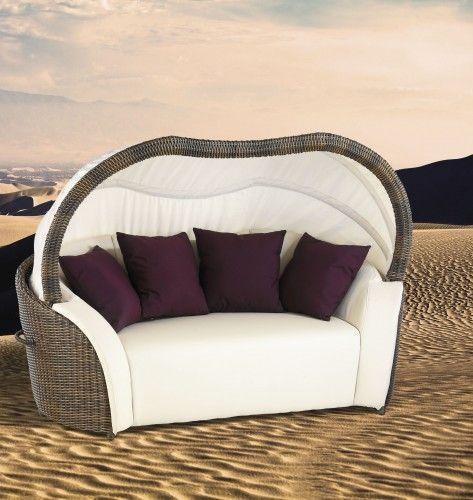 Luxor - Pohovka (hnědá, béžová) | Jena nábytek