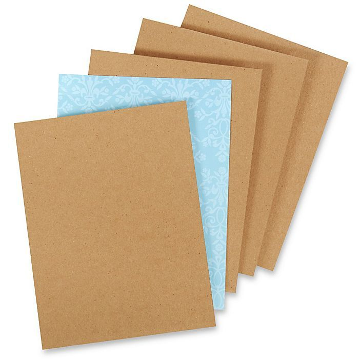 8 1 2 X 11 Chipboard Pads 022 Thick S 6416 Chipboard Plastic Sheets Pad