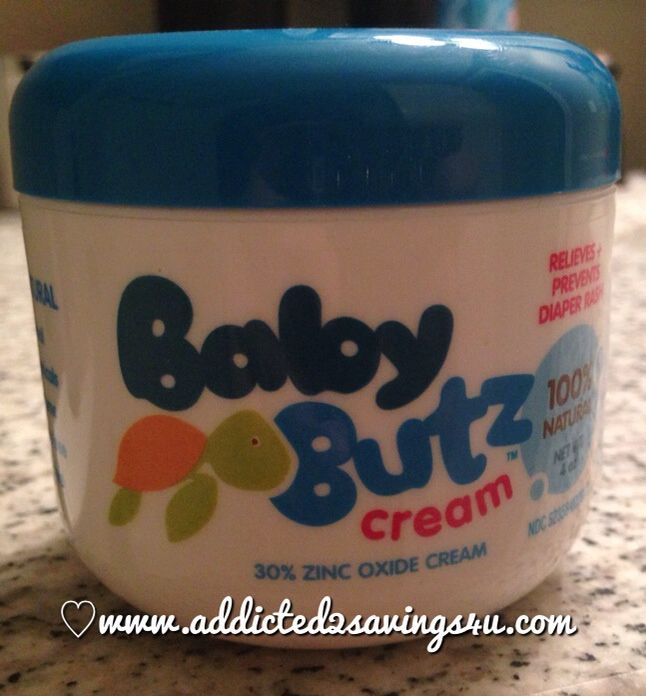 Baby Butz 100% all natural diaper rash cream that works #Review #giveaway