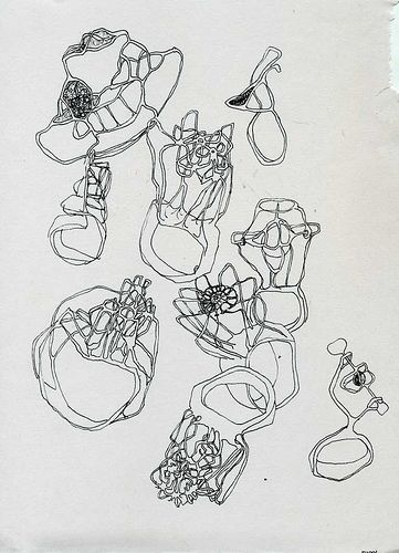Jewellery Design Sketchbook - ring sketches; jewellery drawings; creative process // Juriy Bylkov