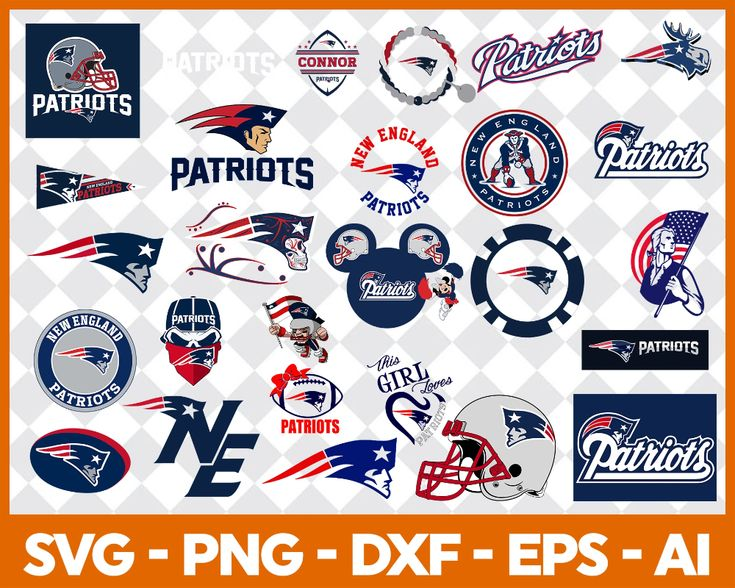 New England Patriots SVG,SVG Files For Silhouette, Files