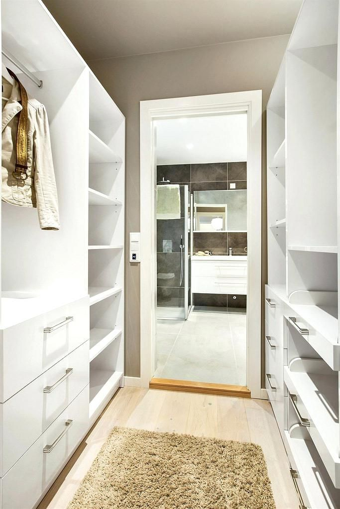 Walk In Closet Master Bathroom Room Ideas In 2019 Pinterest Bedroom Walk Through Closet