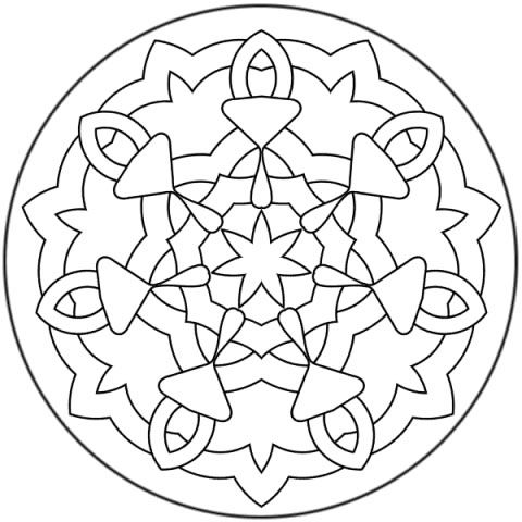 pennsylvania dutch hex sign coloring pages - photo #17
