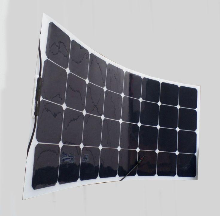 Pannello solare flessibile 100w ideale per barca e camper