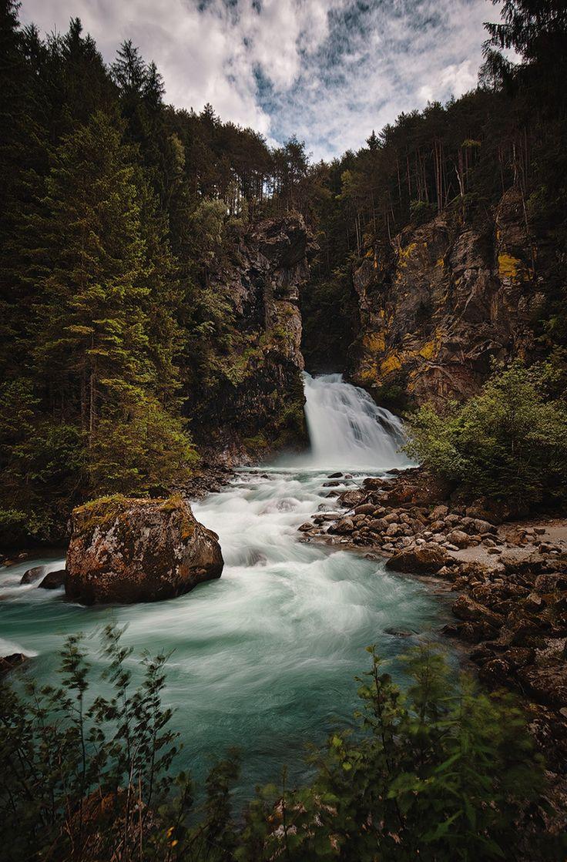 Wanderung mit +Ralf Richtsteiger zu den Reinbach Wasserfällen bei Sand in Taufers / Ahrntal / Südtirol Das ist die unterste, und damit kleinste, der 3... - PRO Winners - Google+