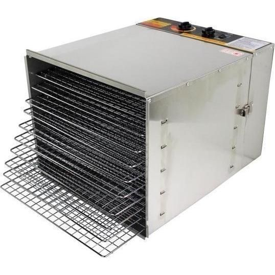 Stainless Steel 10 Tray Food Dehydrator 1200W | Buy New Arrivals