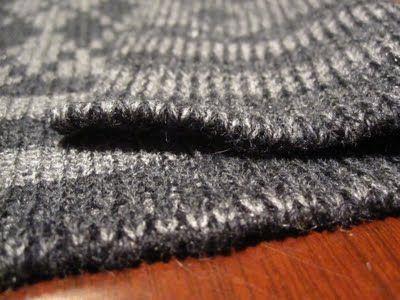 some machine knitting techniques