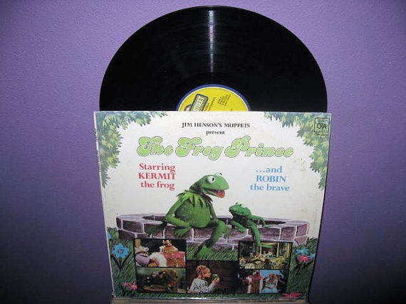 Rare Vinyl Record The Frog Prince Original by JustCoolRecords, $28.00