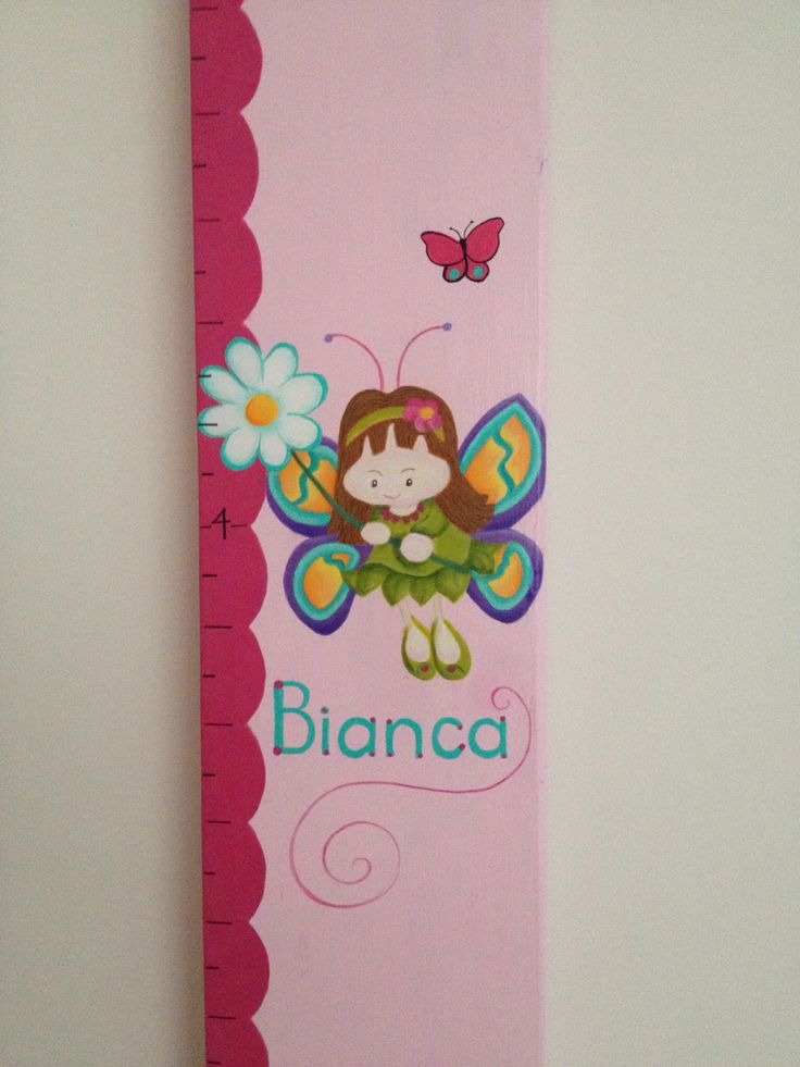 Image for girl's growth chart!