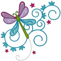 Free dragonfly embroidery design  Would be cute on a quilt.