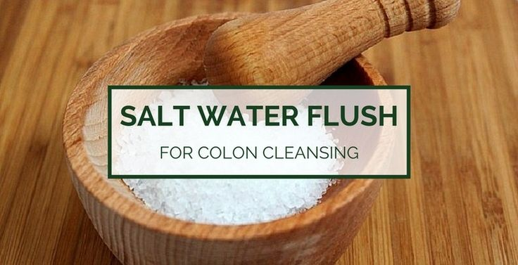 A salt water flush helps to cleanse the colon with Himalayan or sea salt. What are the benefits of a salt water flush, or cleanse, and how does it work?