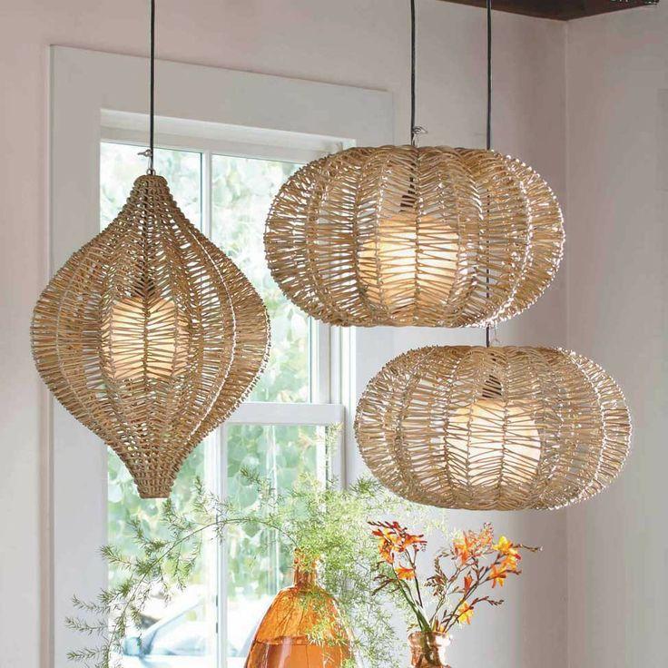 Lighting Organic Hanging Lamps I VivaTerra