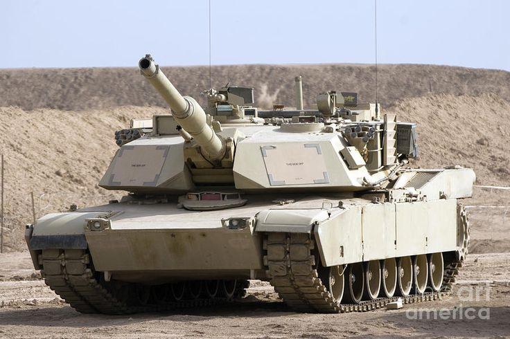 m1 abrams   M1 Abrams Tank At Camp Warhorse Photograph - M1 Abrams Tank At Camp ...