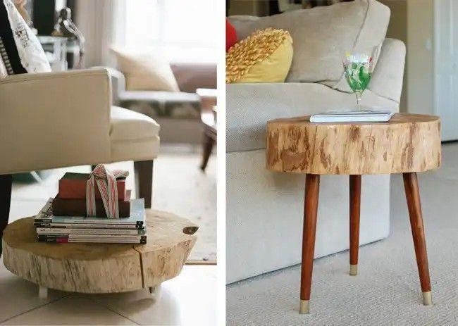 Epingle Par Le Paradis Du Bois Sur Table Basse Bois Idee Deco Mobilier De Salon Table Basse Bois