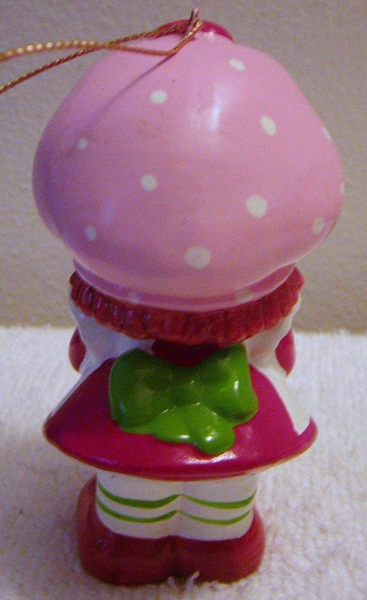 Vintagestrawberry Strawberry Shortcakechristmas  Ornamentschristmas Tree