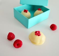 Passionfruit & Raspberry Truffles - Sal's Kitchen for In A Pickle