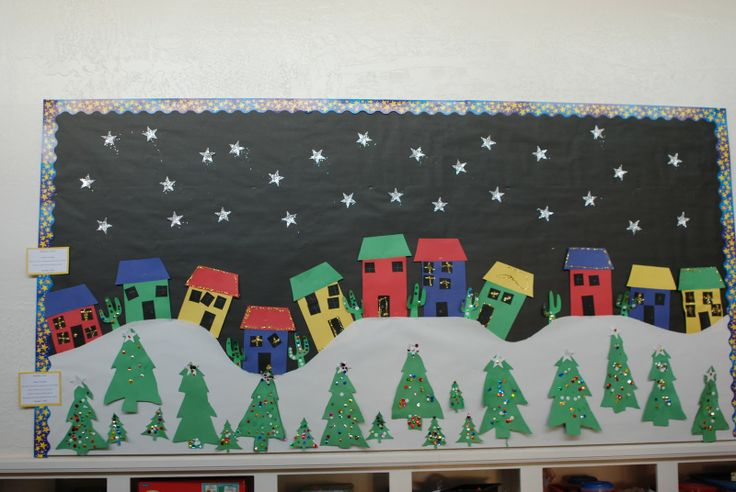 17 Best Images About December Bulletin Boards On Pinterest