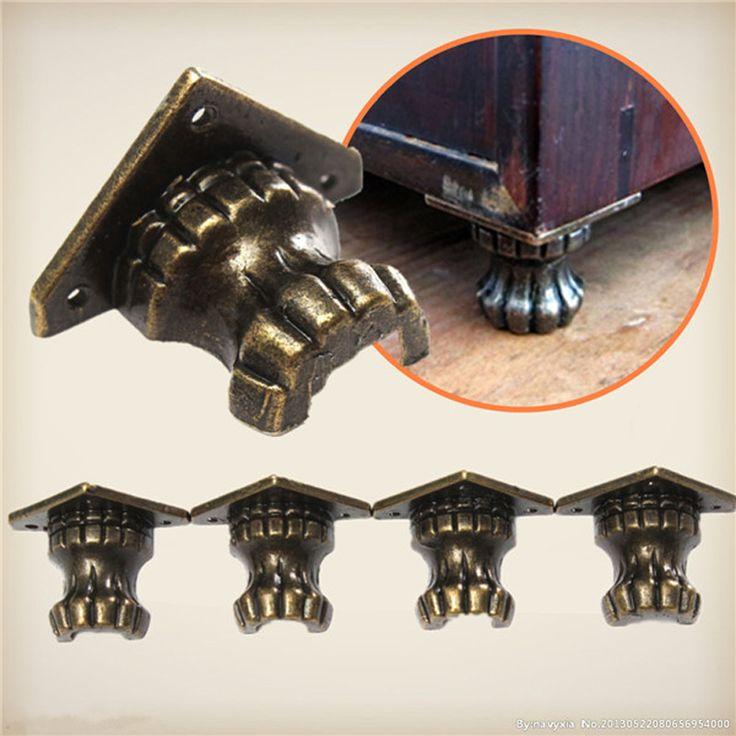 $5.39 (Buy here: https://alitems.com/g/1e8d114494ebda23ff8b16525dc3e8/?i=5&ulp=https%3A%2F%2Fwww.aliexpress.com%2Fitem%2F4pcs-Metal-Antique-Brass-Jewelry-Chest-Wood-Box-Shelfs-Furniture-Decorative-Feet-Leg-Corner-Protector-Mini%2F32639782852.html ) 4pcs Metal Antique Brass Jewelry Chest Wood Box Shelfs Furniture Decorative Feet Leg Corner Protector Mini Hardware Parts HW203 for just $5.39