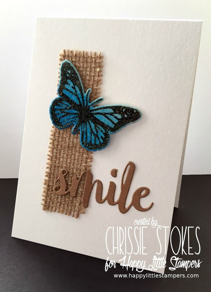 This month's CAS challenge at Happy Little Stampers  is to use die cuts.   I must confess to being a little addicted to die cutting. He...