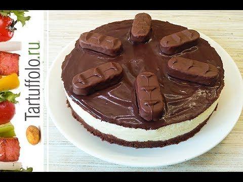 (102) Торт Баунти без выпечки! Сake Bounty without baking! - YouTube