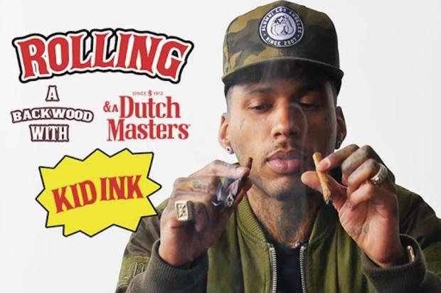 "Kid Ink Breaks Down Instagram Smoke Pics In ""How To Roll"""