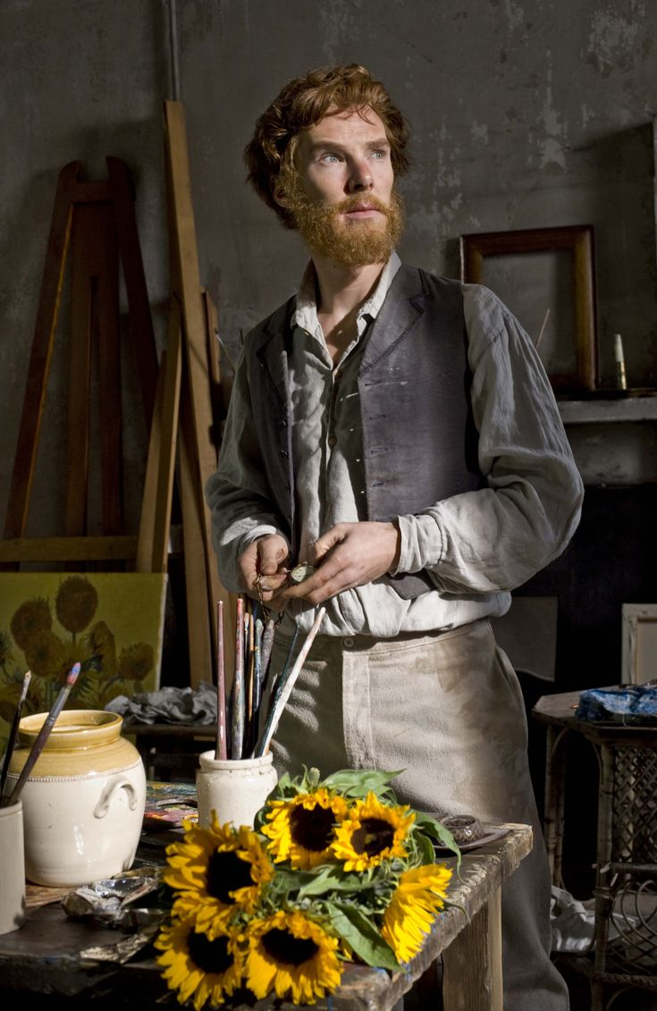 Yep, it's him... --  Benedict Cumberbatch --  2009 12 13 - BBC ' Van Gogh - Painted With Words