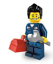 LEGO® Minifigur Sammelfigur Serie 6 Automechaniker Nr 11