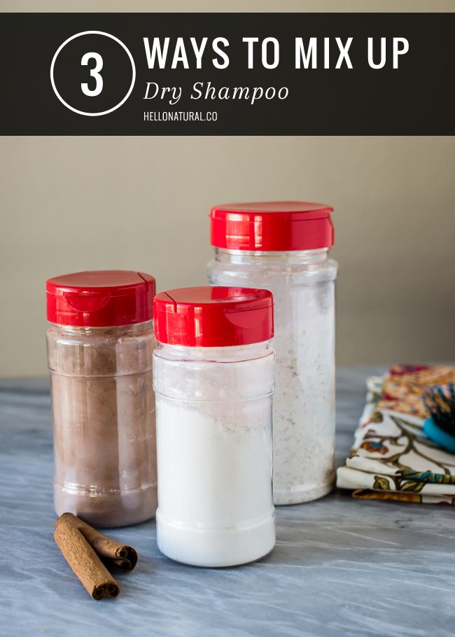 Finally! Dry Shampoo you can make at home. 3 DIY Dry Shampoo Recipes