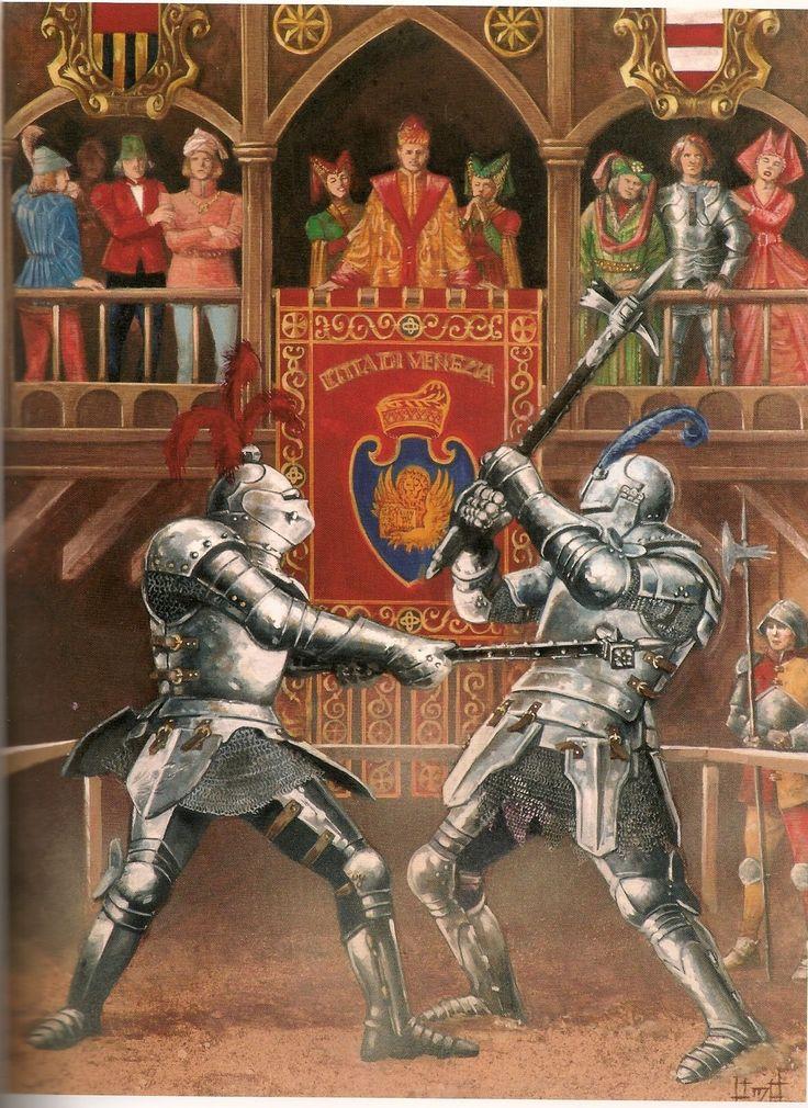 Medieval combat, it was demanding and brutal.