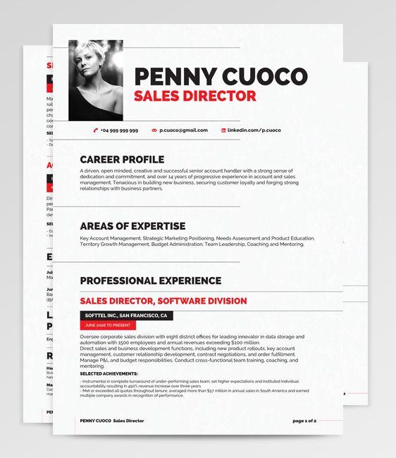 51 best RockStarCV - Resume Templates images on Pinterest - media resume template