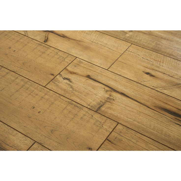 style selections w x l antique hickory handscraped wood plank laminate flooring at loweu0027s the upscale originality of natural wood meets the modern