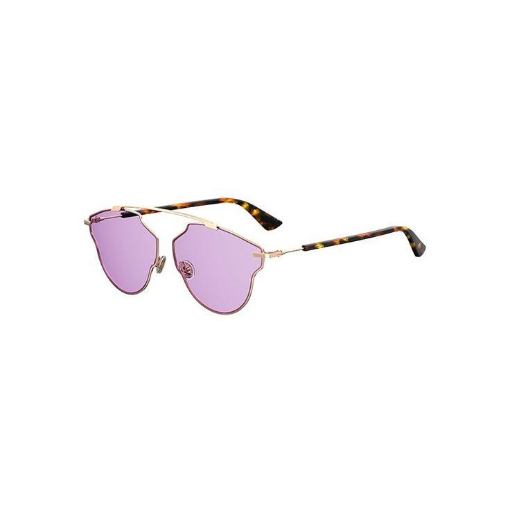Gafas de Sol DIOR SO REAL POP Gold Havana - Violet