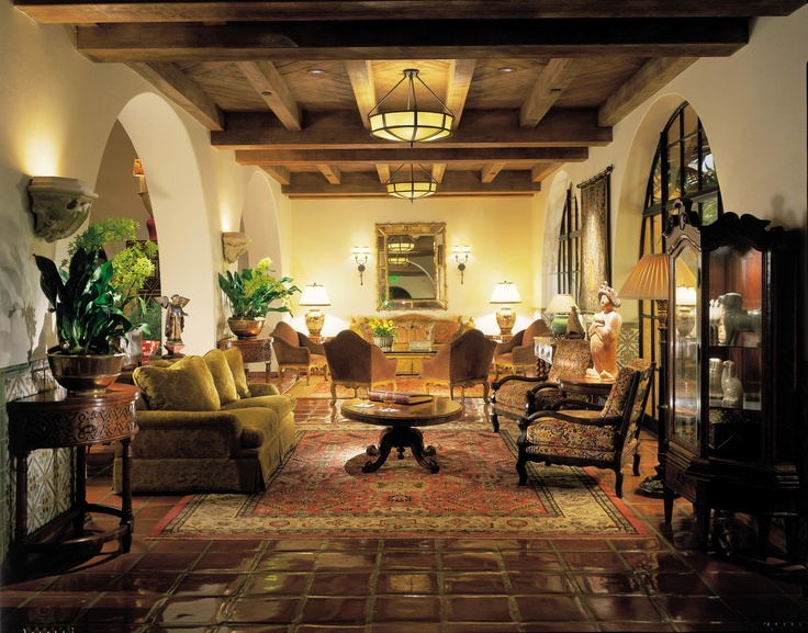 The lobby at Four Seasons Resort The Biltmore Santa Barbara in Santa Barbara, CA