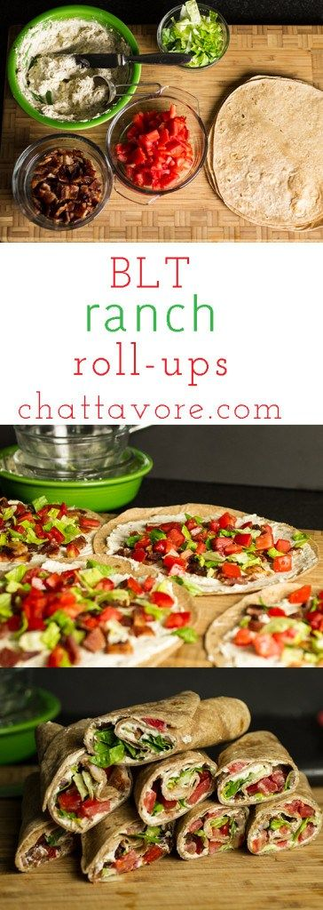 Bacon ranch roll-ups are just what they sound like. Plus they're simple, quick, and delicious-a great way for me to break my lunchtime routine monotony! | recipe from chattavore.com
