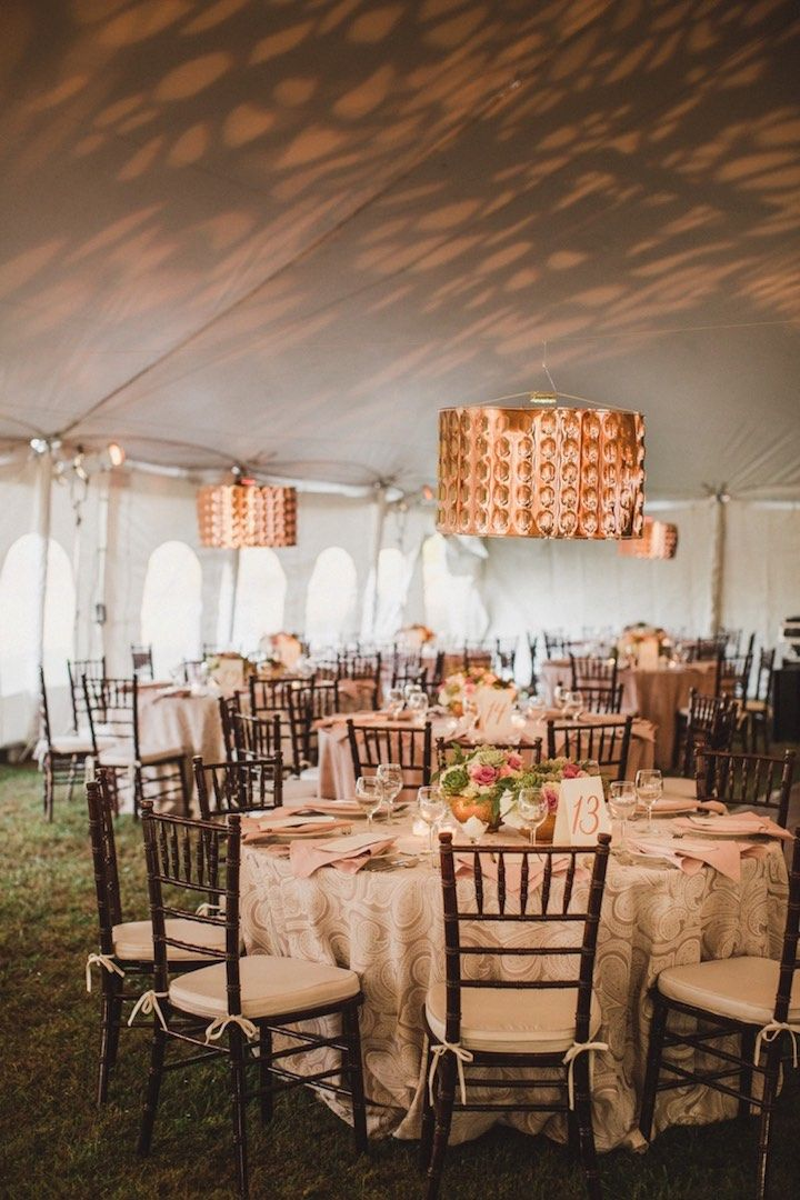 Featured Photographer Amy Campbell Photography wedding reception