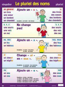 Le pluriel des noms Consultez aussi: http://www.learnfrenchlab.com/french-nouns.html