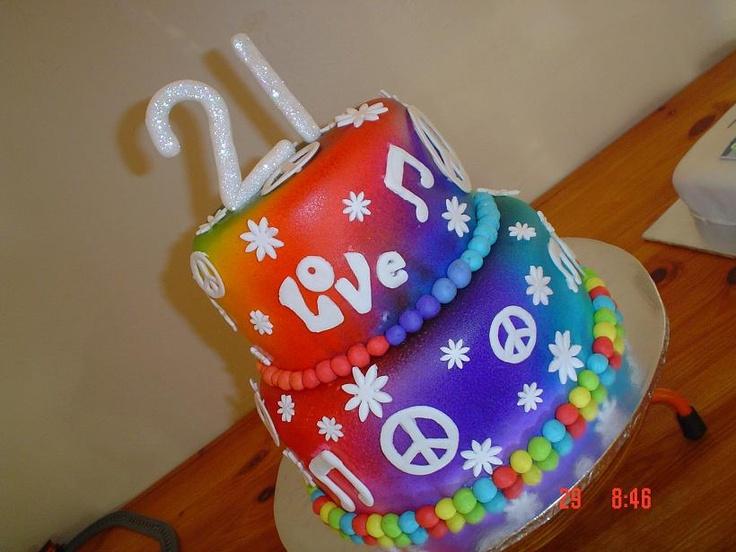 Hippy 21st CAke