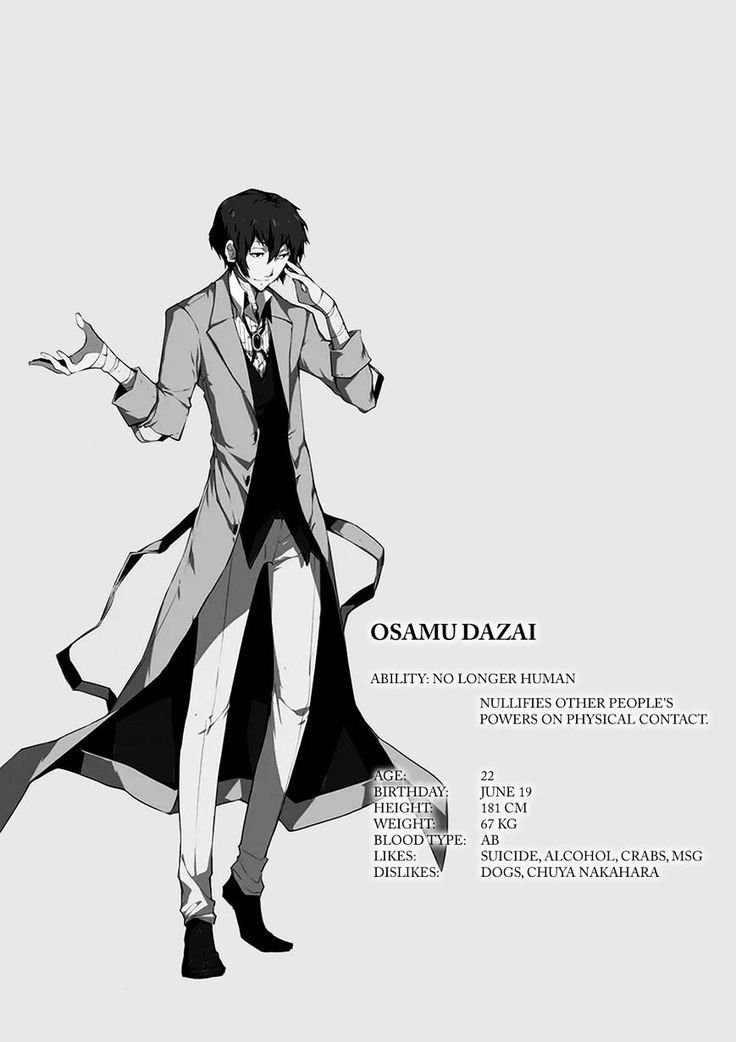 1148 best Bungo Stray Dogs images on Pinterest
