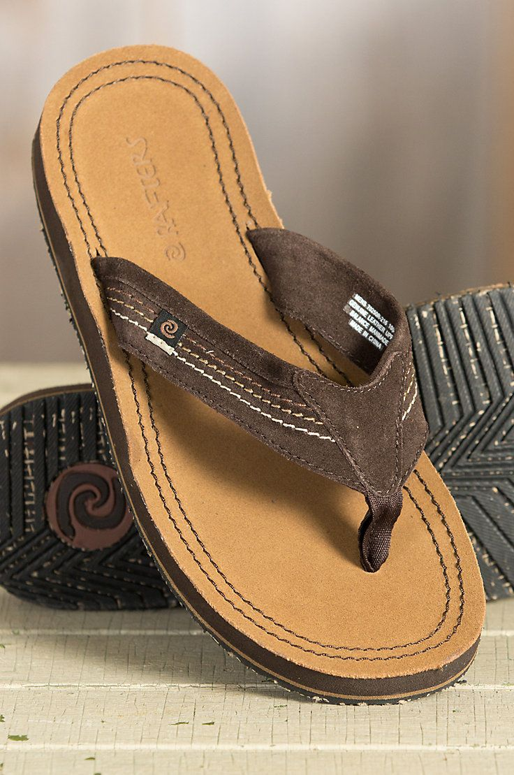 Men's Rafters San Pancho Leather Sandals | Overland Sheepskin