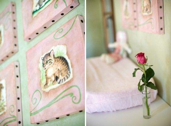 quarto bebe rustico rosa