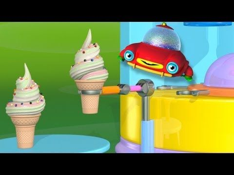 TuTiTu creates an ice cream machine - 3D animation for toddlers.