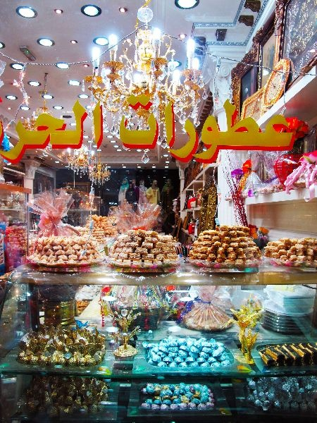 Lebanese sweets on Edgware Road, London via http://townfish.com. Follow us: http://twitter.com/townfish_london