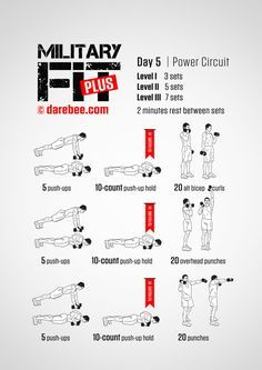 Military Fit Plus: 30-Day Fitness Program