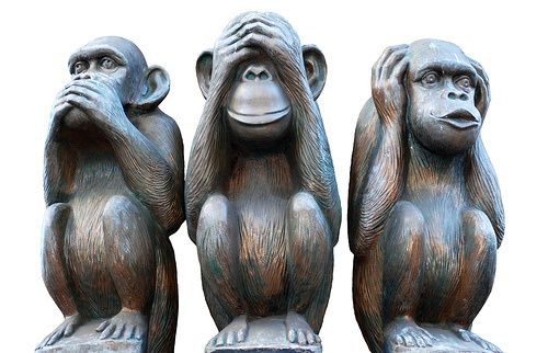 Three Wise Monkeys | C*H*A*N*R*O*E*U*N