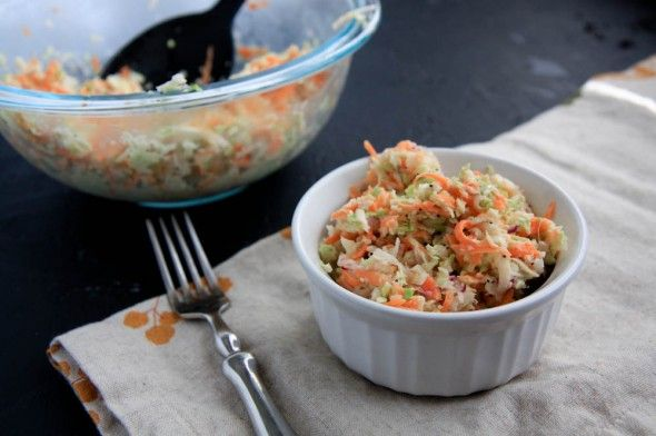 Cole Slaw...couldn't find the cole slaw recipe but good blog anyway
